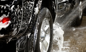 $10 For A Golden Seal Car Wash With Foam Bath, Wax, And Rainbow Polish At Shine-n-seal Express Car Wash ($17 Value)