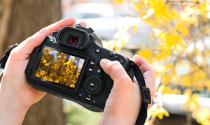 How Do I Use My DSLR Camera: Three-Hour Beginner Hands-On DSLR Camera Class for One or Two from How Do I Use My DSLR Camera (Up to 59% Off)