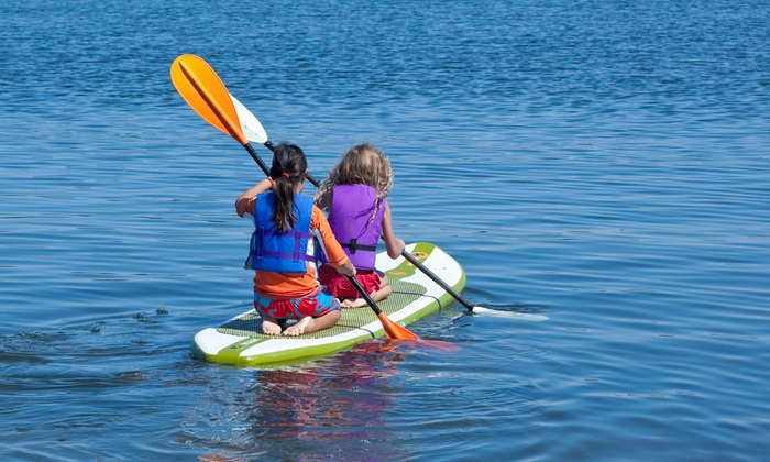 Glencoe Park District - Glencoe Beach: $44 for Admission Plus 1-Hour Paddle Board or Kayak Rental for Two at Glencoe Park District ($88 Value)