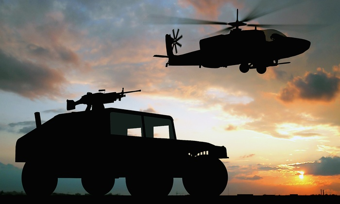 military driving experience