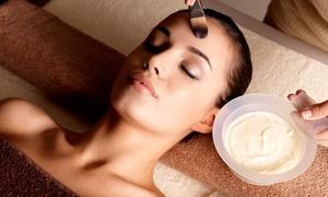 Elite Edge Hair Salon: Spa Mani-Pedi with Paraffin or Spa Facial with Hand Treatment at Elite Edge Hair Salon (Up to 55% Off)