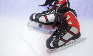 Kent Valley Ice Centre: Ice Skating for Two, Four, or Eight Including Skate Rentals at Kent Valley Ice Centre (33% Off)