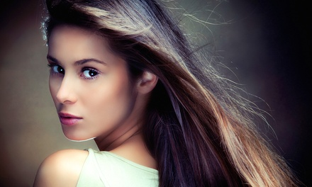 Wash, Blowout, Condition and Optional Highlights at New Creations Hair Salon & Spa (Up to 48% Off)