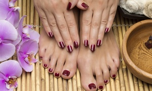 Peers Hairdressing: Shellac Manicure or Pedicure (£10) or Both (£19) at Peers Hairdressing (Up to 67% Off)