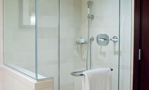 "Century Shower Door: $99 for $300 Toward Frameless 3/8"" or 1/2"" Glass Shower Door from Century Shower Door"
