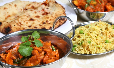 Indian Food Buffet for Lunch or Dinner for Two at Jewel of India (Up to 46% Off)