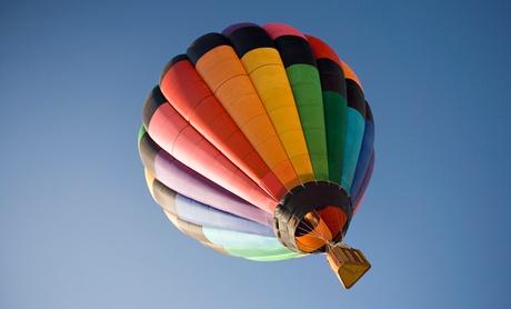 Wertgutschein über 100 € anrechenbar auf eine Ballonfahrt nach Wahl mit GT Ballonfahrten Fröhlich un