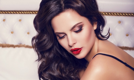 Blowout, or Makeup Application, or Both Services at Sonya Salon & Spa (Up to 46% Off)