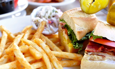 American Cuisine at Neptune's Sports Pub (40% Off). Four Options Available.
