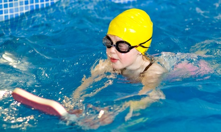 $120 for Eight Semi-Private Kid's Swim Lessons for One with Registration from Aquatics Academy  (50% Off)