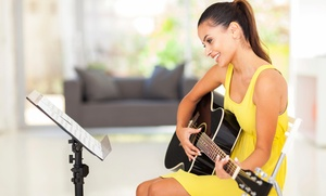 Amadeus Music Institute: One, Two or Four Guitar, Piano or Violin Classes at Amadeus Music Institute (Up to 68% Off)