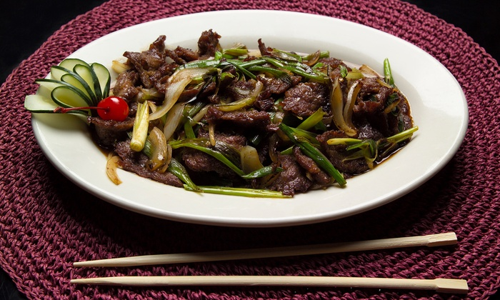Kublai Khan Restaurant Katy - West Green Reserves: Stir-Fry and Mongolian Cuisine at Kublai Khan Restaurant (Up to 40% Off). Two Options Available.