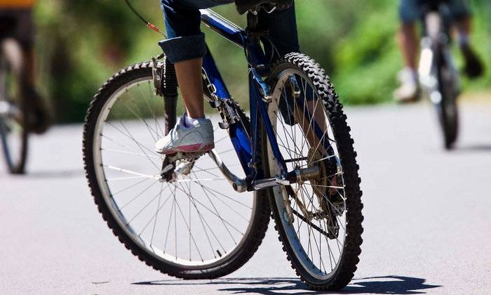 Franklin On Foot - Behind Handy Hardware: Two-Hour Bike Tour or Bike Rental for Two from Franklin On Foot (Up to 45% Off)