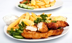 New Cod on the Block: Takeaway Fish and Chips Meal for Up to Four at New Cod on the Block (40% Off)