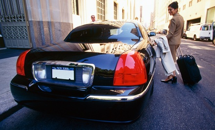 $43.99 for a One-Way Limo Ride to the Airport from AiRoute Limo ($80 Value)