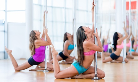 Four Pole Dance Classes at Dance Inspires (50% Off)