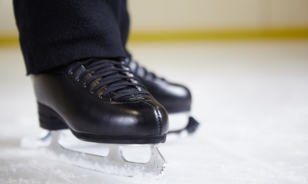 Four or Eight Ice-Skating Passes at Boss Ice Arena (Up to 38% Off)