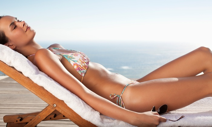 Sunless Beauty - Organic Spray Tan - Sunless Beauty - Organic Spray Tan: Two or Four Custom Organic Spray Tanning Sessions at Sunless Beauty (Up to 51% Off)