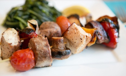$13 for $20 Worth of Mediterranean Food and Drinks at Shish Kabob