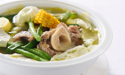 Filipino Food for Dine-In or Carryout at Halo-Halo Kitchen (Up to 35% Off). Two Options Available.