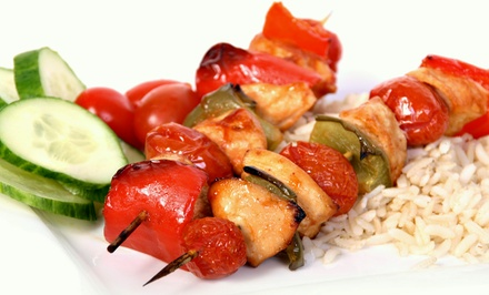 Mediterranean Meal for Two or Four at Mazaya Lounge (Up to 54% Off)