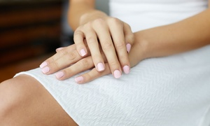 Salon Atreve: Shellac Manicure ($19) with French Tips ($25), or Shellac Pedicure ($39) at Salon Atreve (Up to 55 Value)