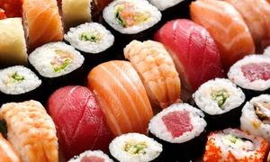 Sainbi'ose: Box avec sushis, makis, sashimis et frenchy rolls à emporter pour 2 ou 4 personnes dès 29,90 € au restaurant Sainbi'ose