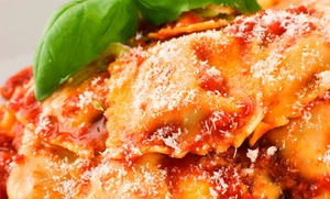 Giardinetto Restaurant: Italian Dinner for Two or Four at Giardinetto Restaurant (Up to 54% Off)