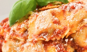 Roma Ristorante & Bar: Appetizer and Entree for Two or Four at Roma Ristorante & Bar (Up to 48% Off)