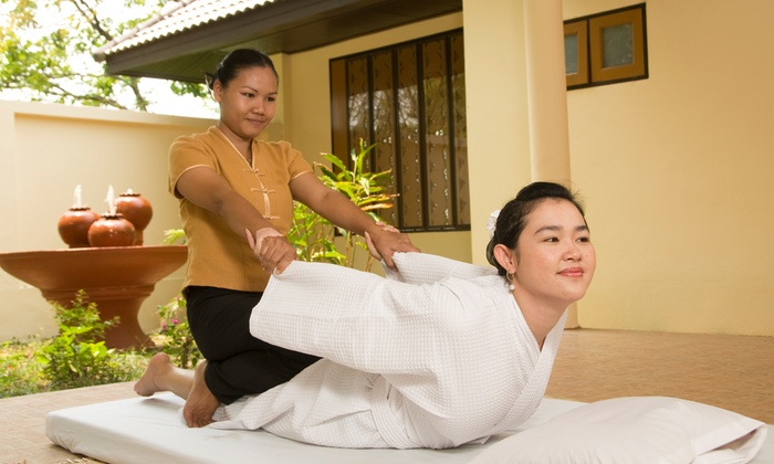 Siam Orchid Traditional Thai Massage - Siam Orchid Traditional Thai Massage: Thai Massage or Package with Optional Aromatherapy at Siam Orchid Traditional Thai Massage (Up to 56% Off)
