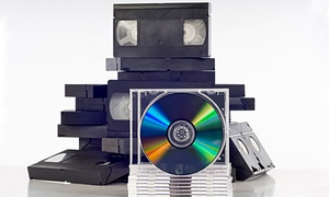 Main Street Photo-Video: Transfer of Two, Four, or Six Videotapes to DVD at Main Street Photo-Video (Up to 63% Off)