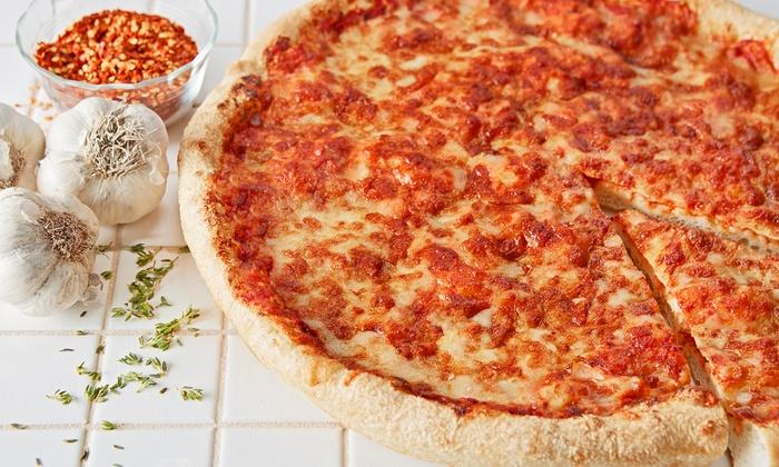Mozzarella To-Go - Multiple Locations: $15 for $25 Worth of New York–Style Pizza at Mozzarella To-Go