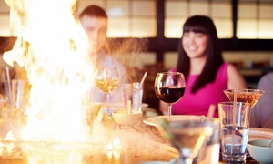 OKI Asian Bistro: Hibachi, Sushi, or Asian Cuisine for Two at OKI Asian Bistro (Up to 50% Off). Three Options Available.