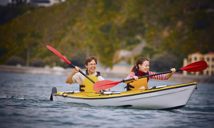 Harbourfront Canoe & Kayak Centre - Harbourfront Canoe & Kayak Centre: Three-Hour Guided Kayak Tour of the Toronto Islands for One or Two from Harbourfront Canoe & Kayak Centre (52%Off)