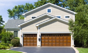 Anco Overhead Door Service INC: $99 for Garage-Door Repair with Roller Installation from Anco Overhead Door Service Inc ($280 Value)
