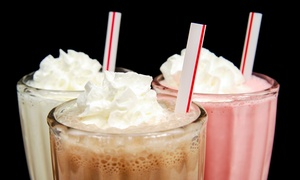 $12 For Four Groupons, Each Good For One 16-ounce Milkshake At The Sweet Spot ($20 Total Value)