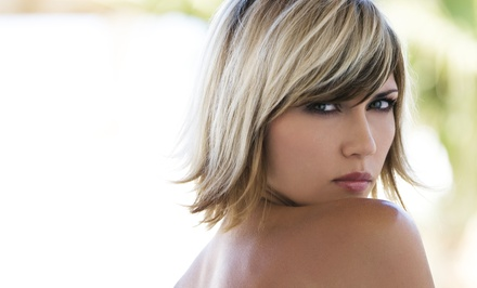 Haircut Package with Optional Partial or Full Highlights at Styling Bella Beauty Lounge (Up to 67% Off)