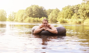 Carried Away Recreation: One- or Four-Mile River Tubing Trip for Two or Four from Carried Away Recreation (57% Off)