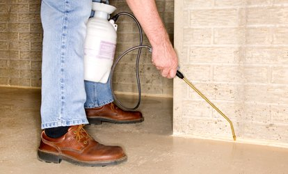 $35 for an Interior and Exterior One-time Pest-Control Treatment from Frontline Exterminating ($175 Value)