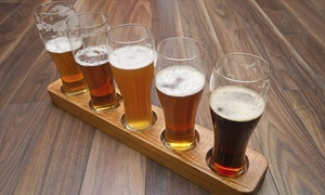 The Kitchen: Beer Flights with Food for Two or Four at The Kitchen (Up to 46% Off)