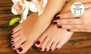 Penélope Charmosa Esmalteria Cabeleireira e Boutique: Penélope Charmosa – Vila Santa Cruz: 4 visitas de manicure + 2 de pedicure ou 8 de manicure + 4 de pedicure