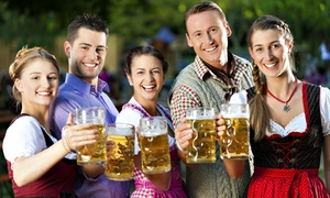Keep Crawling : Admission for One or Two to the Oktoberfest Crawl, Presented by Keep Crawling  (Up to 53% Off)