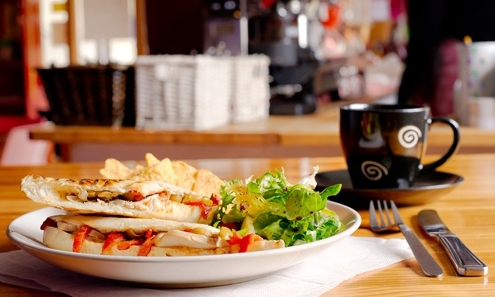 Tea House Inc - Mid-Town Belvedere: Tea and Sandwiches at Tea House Inc (40% Off). Two Options Available.
