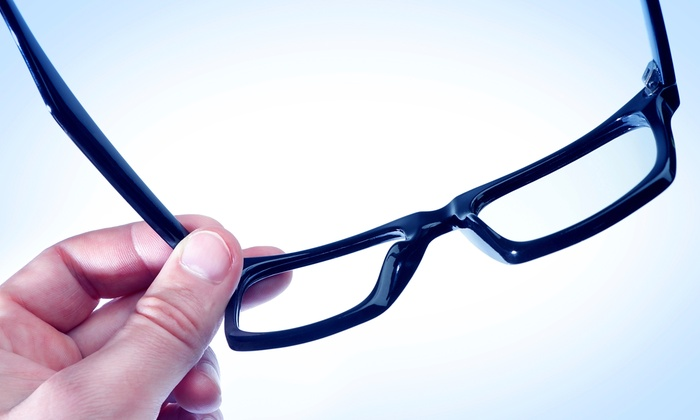 Optique EyeCare - St. Charles: Eyewear and Eye Exams at Optique EyeCare (Up to 80% Off). Two Options Available.