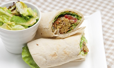 Two Veggie Burgers for One or Two Veggie Burgers with Soups for Two at The Eating Well (41% Off)