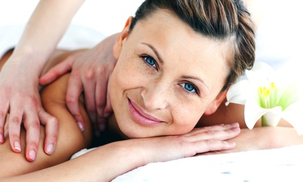 One or Two 50-Minute Custom Massages at Sugar Plum Skin Care (Up to 61% Off)