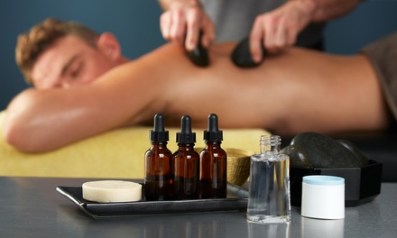 $56 for 60-Min Full Body Hot Rock with Essential Oil Massage from Asia Massage (Value $99)