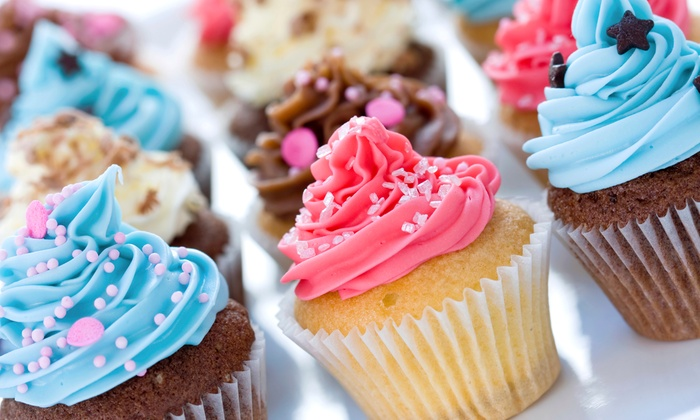 Kitsch Cupcakes - Dubai: Kitsch Cupcakes: 12 (AED 84) or 24 (AED 164), Two Locations (Up to 51% Off)