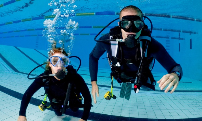 Azimuth Scuba - Azimuth Scuba: Discover Scuba or Intro PADI Certification Course at Azimuth Scuba (Up to 52% Off)