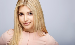 Salon A.G.: Haircut with Optional Single-Process Color or Partial or Full Highlights at Salon A.G. (Up to 52% Off)